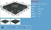 80085-N41111SL 1100X1100X120MM PLASTIC PALLET UNCATEGORIZED