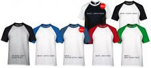 ADULT RAGLAN T-SHIRT - 76500 Pure Cotton T-Shirt