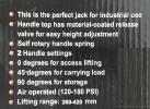 50ton Air Hydraulic Floor Jack ID30770  Hydraulic Floor Jack Garage (Workshop)
