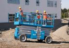 GS-5390RT Scissor Lift - 18meter Diesel Engine Genie Scissor Lift