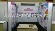 Exhibition Backdrop Setup / Shell Scheme Backdrop Setup / Exhibit Backdrop / Booth Wrapping Wall Sticker Stickers