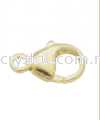 Suasa (Gold Filled), Clasp, Lobster 7x13mm, 2pcs/pack Clasps Suasa (Gold Filled)