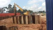 Temporary Sheet Piling for IKEA Phase 1 External Works,Within Boundary IKEA Tebrau City Sheet Piling Project References
