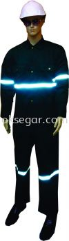 Coverall Dark Green Factory Uniform
