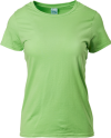 GILDAN PREMIUM COTTON LADIES ROUND NECK REGULAR FIT T-SHIRTS