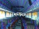 Bas Persiaran 44 Seater Tour Bus Executive Tour Bus Rental