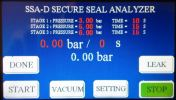 SSA-DSecure Seal Analyzer (Standard Model) Secure Seal Analyzer QC Equipments for Food & Beverage Packaging