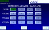 SSA-PLCSecure Seal Analyzer (PLCModel) Secure Seal Analyzer QC Equipments for Food & Beverage Packaging