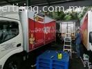 Shoon Fatt 20 Ton Container Lorry Box - Inkjet Sticker TRUCK LORRY STICKER
