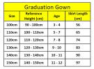 K1793 Graduation Gown Set C Graduation Accessorizes