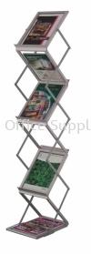 LT362 Newspaper/Magazine Rack Metal Cabinet/Wardrobe/Racking/Storage