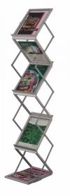 LT361 Newspaper/Magazine Rack Metal Cabinet/Wardrobe/Racking/Storage