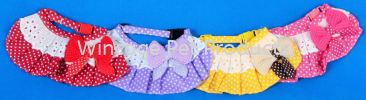 5030-5032 Lace Bow Tie Scarf Leash & Harness Dog Accessories