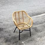 RATTAN + METAL KIDS CHAIR LOLLIPOP