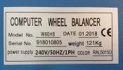 Type Wheel Balancer ID31202 Tyre Equipment Garage (Workshop)