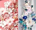 Chunky Beads, Navette, 5x10mm, Crystal AB, 40pcs/pack Chunky Beads - A1 Acrylic Colour Sew On