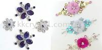Chunky Beads, Oval, 10x14mm, Crystal, 20pcs/pack Chunky Beads - A1 Acrylic Colour Sew On