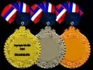 IRM018 METAL HANGING MEDAL Metal Medals Medals Trophy, Medal & Plaque