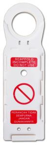 AS SCAFFOLD TAG - HOLDER ONLY AIS-STAG-HOLDER Scaffold Tag System SAFETY SIGNS & LABEL