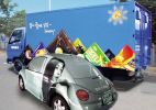 VEHICLE WRAPPING DIGITAL PRINT MATERIAL (DPM) LG HAUSYS STICKER (KOREA)