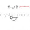Swarovski 6919 Key Pendant, 30mm, Crystal AB (001 AB), 1pcs/pack Swarovski 6919 Key Pendant Pendants  Swarovski® Crystal Collections