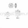 Swarovski 6764 Clover Pendant, 28mm, Crystal AB (001 AB), 1pcs/pack Swarovski 6764 Clover Pendant Pendants  Swarovski® Crystal Collections