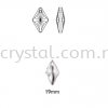 Swarovski 6320 Rhombus Pendant, 19mm, Crystal AB (001 AB), 1pcs/pack Swarovski 6320 Rhombus Pendant Pendants  Swarovski® Crystal Collections