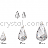 Swarovski 6020 Helix Pendant, 18mm, Crystal AB (001 AB), 1pcs/pack Swarovski 6020 Helix Pendant Pendants  Swarovski® Crystal Collections