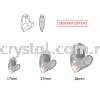 Swarovski 6261 Devoted 2 U Heart Pendant, 17mm, Crystal Golden Shadow (001 GSHA), 1pcs/pack Swarovski 6261 Devoted 2 U Heart Pendant Pendants  Swarovski® Crystal Collections
