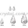 Swarovski 6020 Helix Pendant, 37mm, Crystal AB (001 AB), 1pcs/pack Swarovski 6020 Helix Pendant Pendants  Swarovski® Crystal Collections