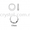 Swarovski 6210 Asymetric Beveled Flat Pendant, 17mm, Crystal AB (001 AB), 1pcs/pack Swarovski 6210 Asymetric Beveled Flat Pendant Pendants  Swarovski® Crystal Collections
