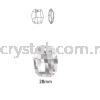 Swarovski 6685 Graphic Pendant, 28mm, Crystal Golden Shadow (001 GSHA), 1pcs/pack Swarovski 6685 Graphic Pendant Pendants  Swarovski® Crystal Collections