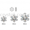 Swarovski 6704 Snowflake Pendant, 25mm, Crystal AB (001 AB), 1pcs/pack Swarovski 6704 Snowflake Pendant Pendants  Swarovski® Crystal Collections