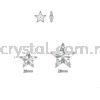Swarovski 6714 Star Pendant, 20mm, Crystal AB (001 AB), 1pcs/pack Swarovski 6714 Star Pendant Pendants  Swarovski® Crystal Collections