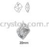 Swarovski 6680 Cosmic Pendant, 20mm, Crystal AB (001 AB), 1pcs/pack Swarovski 6680 Cosmic Pendant Pendants  Swarovski® Crystal Collections