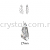 Swarovski 6690 Wing Pendant, 27mm, Crystal Silver Shade (001 SSHA), 1pcs/pack Swarovski 6690 Wing Pendant Pendants  Swarovski® Crystal Collections