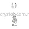 Swarovski 6690 Wing Pendant, 27mm, Crystal (001), 1pcs/pack Swarovski 6690 Wing Pendant Pendants  Swarovski® Crystal Collections