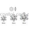 Swarovski 6704 Snowflake Pendant, 20mm, Crystal AB (001 AB), 1pcs/pack Swarovski 6704 Snowflake Pendant Pendants  Swarovski® Crystal Collections