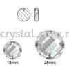 Swarovski 6621 Twist Pendant, 18mm, Black Diamond (215), 1pcs/pack Swarovski 6621 Twist Pendant Pendants  Swarovski® Crystal Collections