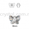 Swarovski 6754 Butterfly Pendant, 18mm, Crystal Golden Shadow (001 GSHA), 1pcs/pack Swarovski 6754 Butterfly Pendant Pendants  Swarovski® Crystal Collections