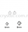 Swarovski 6328 Xilion Bicone Pendant, 06mm, Crystal AB (001 AB), 6pcs/pack Swarovski 6328 Xilion Bicone Pendant Pendants  Swarovski® Crystal Collections