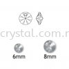 Swarovski 6428 Xilion Pendant, 06mm, Crystal AB (001 AB), 10pcs/pack Swarovski 6428 Xilion Pendant Pendants  Swarovski® Crystal Collections
