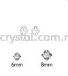 Swarovski 6328 Xilion Bicone Pendant, 06mm, Crystal (001), 6pcs/pack Swarovski 6328 Xilion Bicone Pendant Pendants  Swarovski® Crystal Collections