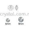 Swarovski 6428 Xilion Pendant, 06mm, Siam (208), 10pcs/pack Swarovski 6428 Xilion Pendant Pendants  Swarovski® Crystal Collections