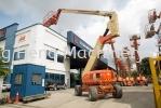 JLG 800AJ Diesel Powered Articulating Boom Lift JLG Boom Lift