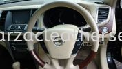 Nissan Teana Steering Replace Leather  Steering Wheel Leather