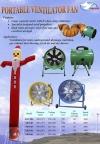 Swan Ventilation Fan (sky dancer blower) ID226712 Stand Fan / Wall Fan / Mist / Ventilation / Exhaust / Air Cooler  Fan Blower Ventilator