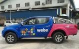 Van Advertising For Webe Broadband Car Advertising Vehicle Advertising