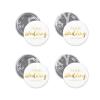 InkJet PVC Foil Gold A4 Size Inkjet PVC Sticker Indoor & Outdoor Stickers / Materials