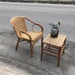 RATTAN DINING CHAIR WICKER RC